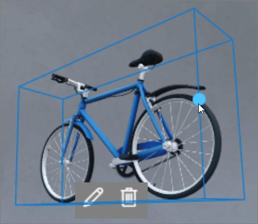 Grense boks for rotasjon