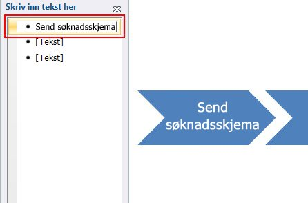 Type text in the text area of the Type your text here window.