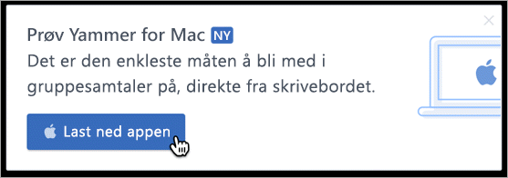 I produkt-messaging for Mac