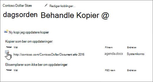 Klikk Rediger i behandle filer-vinduet