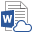 Ikon for koblet Word-dokument