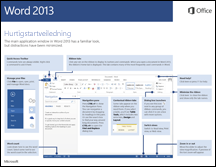 Hurtigstartveiledning for Word 2013