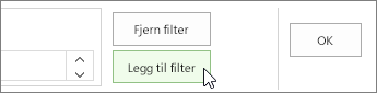 Legge til Filter-knappen