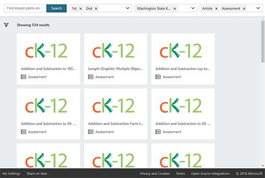 Education ressurser søkeresultater med valgte filtre