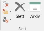 Arkivering med ett klikk