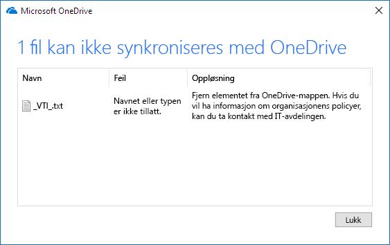Kan ikke synkronisere OneDrive-filen_C3_20179613523
