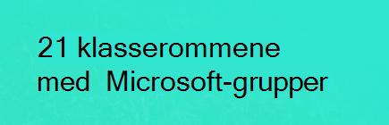 Moderne klasserom med Microsoft Teams
