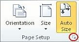 Dialogboksvelger for utskriftsformat