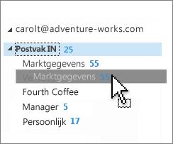 Postvak IN aanpassen