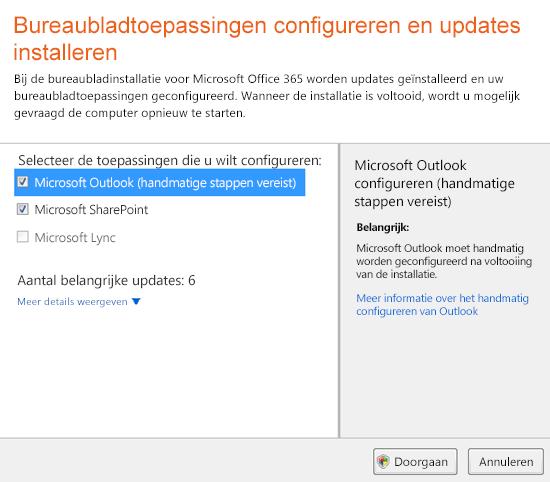 Bureaubladtoepassingen configureren en updates installeren