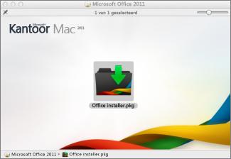 Klik op het installatieprogramma van Office