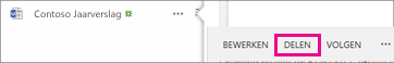 Schermafbeelding van knop Delen
