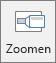 Hiermee wordt de knop Zoom weergegeven op het tabblad Invoegen in PowerPoint.