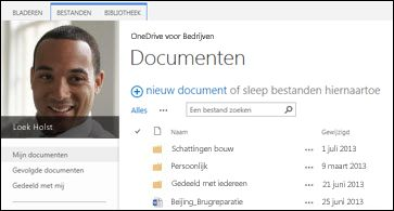 SharePoint 2013 OneDrive voor Bedrijven