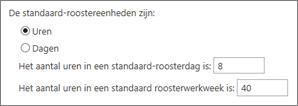 Standaardrapporteringseenheden