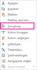 Taalinstelling van Outlook Web App