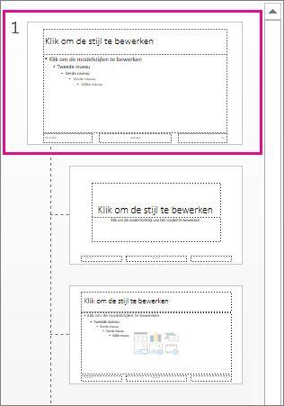 Een powerpoint sjabloon maken en opslaan powerpoint diamodel toneelgroepblik Gallery