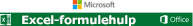 Excel-formulehulp