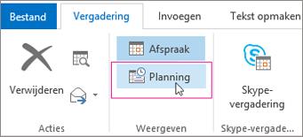 Knop Planningsassistent