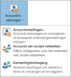 Schermafbeelding van het toevoegen van een gedelegeerde in Outlook