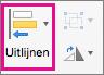 Uitlijnen in PowerPoint voor Mac