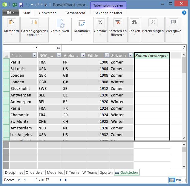 Gebruik Kolom toevoegen om een berekend veld te maken met DAX