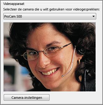 Schermafbeelding van video-opties
