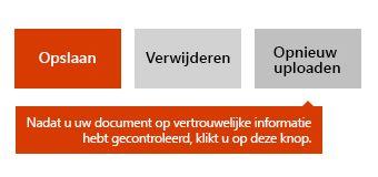 Optie voor opnieuw uploaden van document in Docs.com