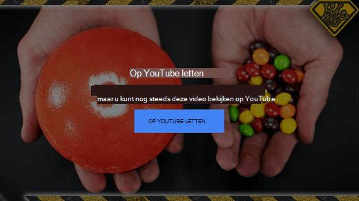 In dit foutbericht van YouTube wordt uitgelegd dat video's die werken met Flash niet meer worden ondersteund