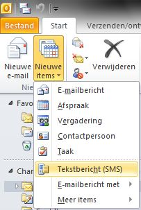 Instellingen voor tekstbericht