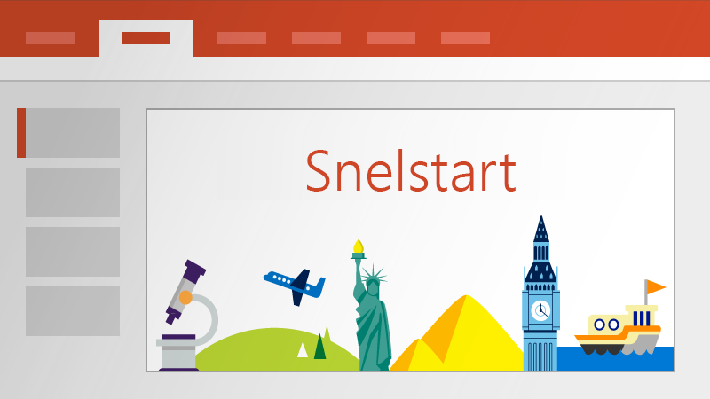 Snelstart in PowerPoint