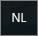 Indicator voor het Engelse toetsenbord