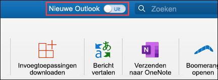 Nieuwe Outlook voor Mac