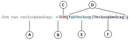 Formule voor berekende kolom