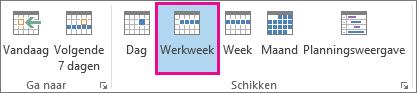 Werkweekweergave