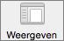 Knop Weergave in Word-voorkeuren
