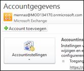 Een nieuw e-mailaccount toevoegen aan Outlook 2010