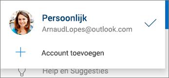 Account toevoegen in de OneDrive-app voor Android