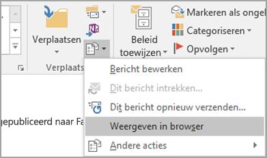 Kies Weergeven in browser.