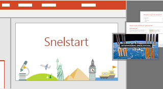 Snelstartfunctie in PowerPoint