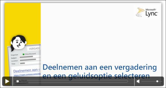 Afbeelding van PowerPoint-dia met videobesturingselementen
