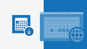 Referentiemateriaal voor Outlook Agenda Online
