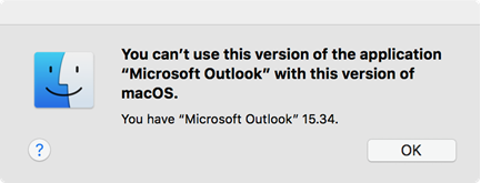 """Fout: """"U kunt deze versie van de toepassing niet gebruiken"""""""