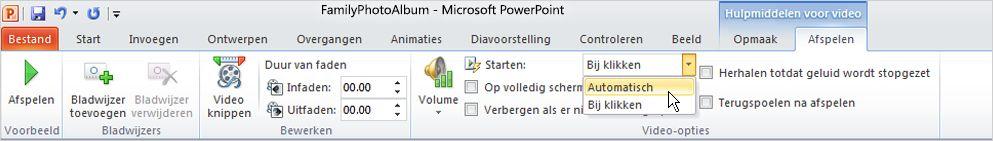 226eb945ef2570 Opties voor het afspelen van een video instellen - PowerPoint