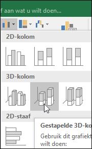 Gestapelde 3D-kolom