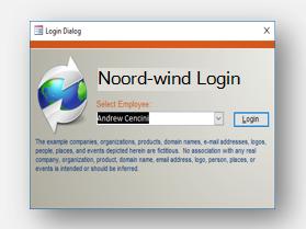 Northwind sjabloon downloaden