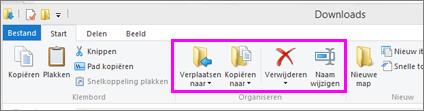 Open de map waarin zich het gedownloade bestand bevindt.