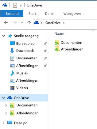 OneDrive in Verkenner