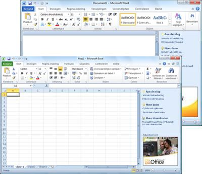 Word Starter en Excel Starter