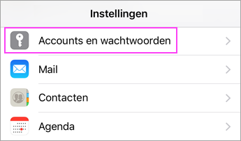 how to change email password on iphone e mail instellen met de e mailapp voor ios office 4941